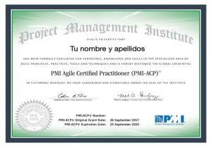 Consigue la certificación PMI-ACP la más valorada del mercado agile