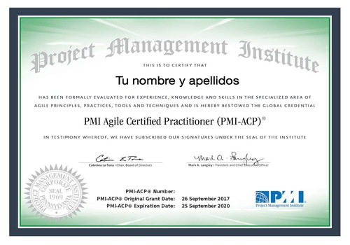 La Certificacion PMI-ACP Es La Más Valorada En El Mundo Agile